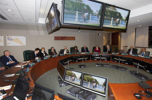 The NCC Board evaluates its cable reception